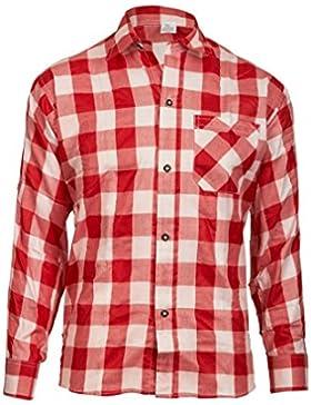 MS-Trachten Herren Trachtenhemd Großkaro
