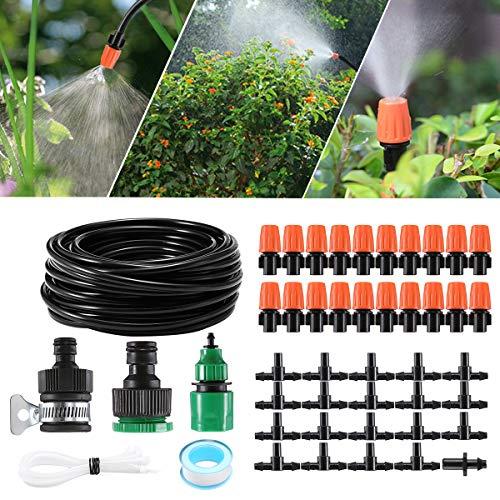 Bewässern 40m Automatic Micro Drip Irrigation Watering Hose Bewässerung Gewächshaus Hose