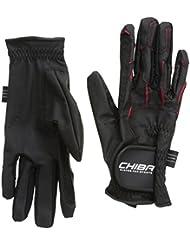 Chiba Reithandschuhe Sport - Guantes de hípica para hombre, color negro, talla XL