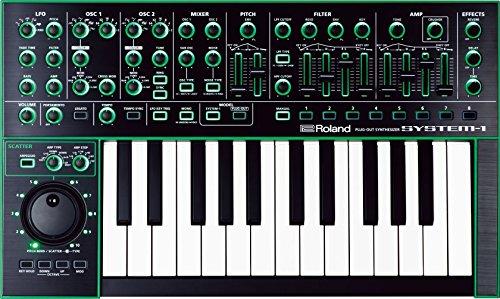 Roland Variabler Synthesizer 25 Tasten/Schlüssel M Schwarz