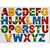 Little Genius English Alphabets - Uppercase with Knob