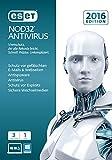 ESET NOD32 Antivirus 2016 Edition 3 User [PC Download]