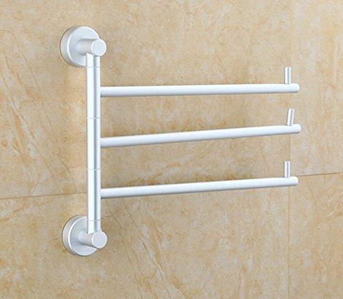 SSJDCF Handtuchstange/Handtuch Raum Aluminium Aktivität Handtuch bar Handtuch DREI Pole Rahmen -