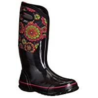 Bogs Womens Classic Pansies Rubber Boots