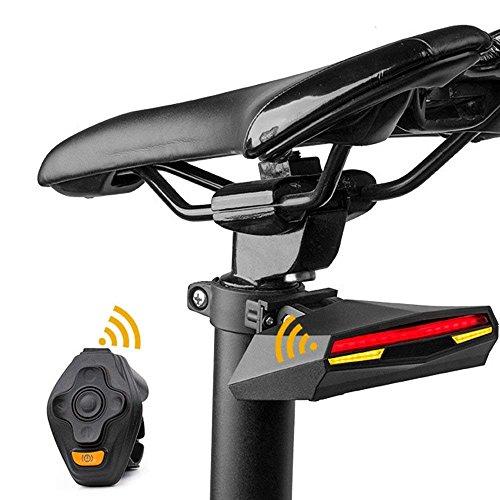 MUTANG Fahrrad Licht Rücklicht Drahtlose Fernbedienung Blinker Nacht Reiten Ausrüstung Wasserdichte Nacht Warnlicht