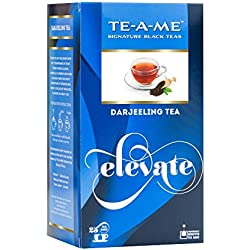 TE-A-ME Signature Black Tea, Darjeeling Tea, 25 Tea Bags