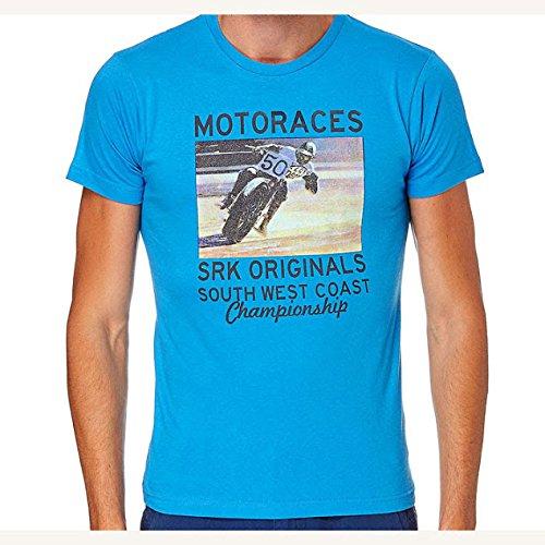 SRK-maglietta manches courtes Uomo CORACE blu