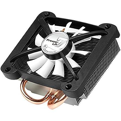 ARCTIC Freezer 7 LP - Ventilador de PC (Enfriador, Procesador, Socket T (LGA 775), Aluminio, Negro, Plata, 109 x 108 x 42 mm)