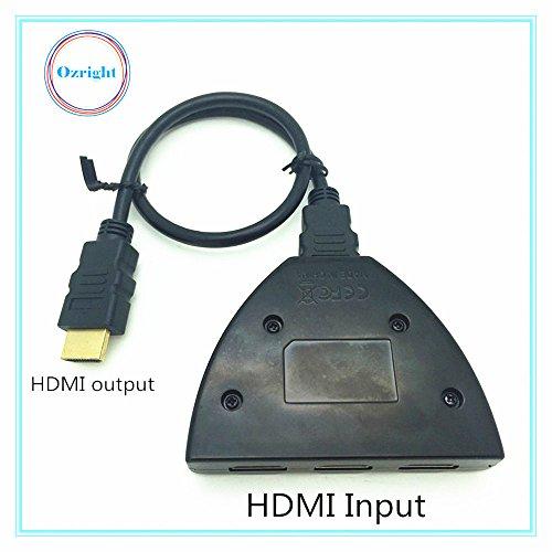 Betron - Switch HDMI a 3 porte 1,4 V, con