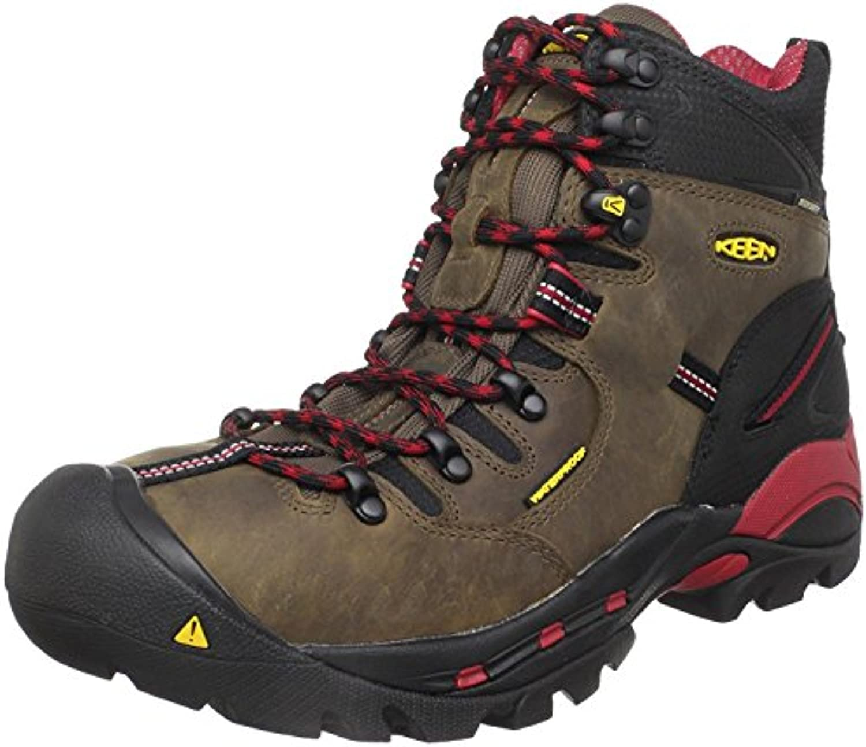 KEEN Utility Men's Pittsburgh Steel Toe Work Boot, Bison, 44 2E EU/9.5 2E UK