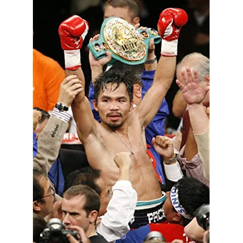 Manny Pacquiao 11 x 17 foto poster HD PRO Boxer # 03