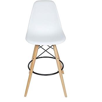 Surprising White Panana Bar Stool Breakfast Kitchen Bistro Cafe Vintage Dailytribune Chair Design For Home Dailytribuneorg