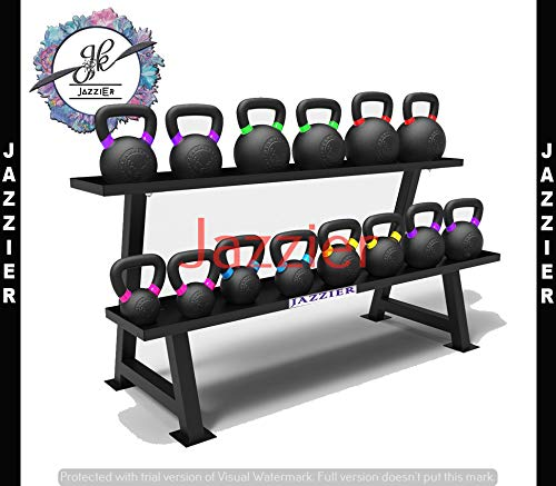 Jazzier Kettle Bell Weight Storage Rack (Without Weight) KBR-03