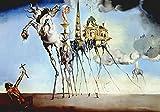 Dalì Poster 07 cm 50x70 Poster Plakat Fine Art auf Papier Matte Foto papiarte