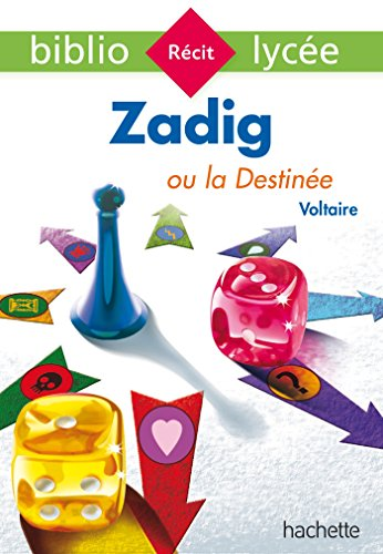 Bibliolyce - Zadig ou la Destine, Voltaire