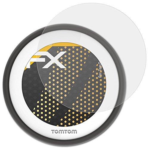 atFoliX Panzerfolie kompatibel mit Tomtom VIO Schutzfolie, entspiegelnde und stoßdämpfende FX Folie (3X)
