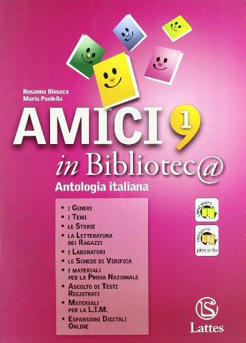 Amici in bibliotec@. Per la Scuola media. Con espansione online: Quaderno di lavoro: 1