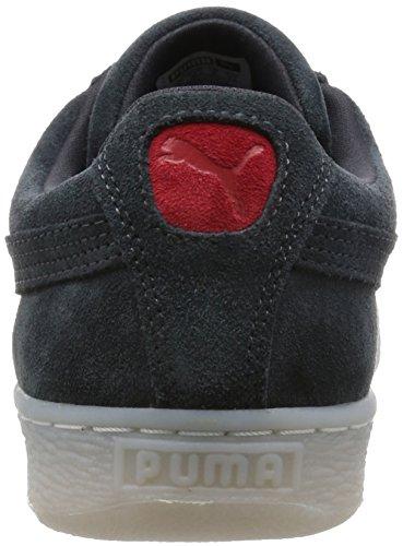 Puma Classic Col Damen Sneaker Dunkelgrau
