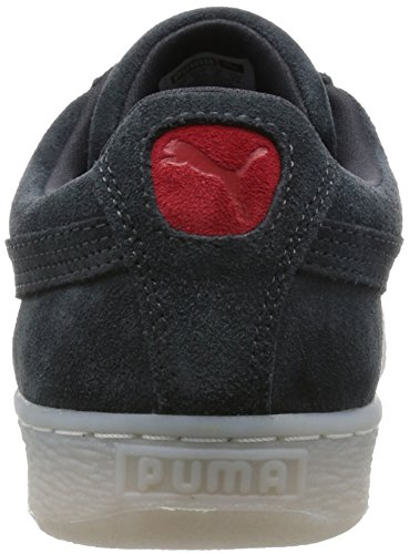 Puma - Classic Col, Sneaker Uomo Noir (Dark Shadow/High Risk Red)