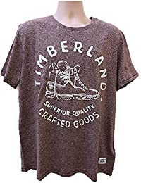 Timberland New Applique Graphic Textured Top Tee SZ :Large/L