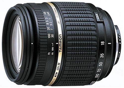 Tamron AF 18-250mm 3,5-6,3 Di II LD ASL Macro digitales Objektiv (62 mm Filtergewinde) mitBuilt-In Motor für Nikon