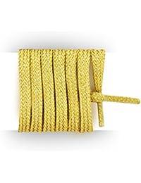 Meslacets - Lacets baskets plats et fins en coton 55CM