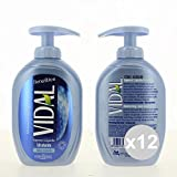 Juego 12Vidal Jabón líquidos 300Talco Jabón Limpieza del cuerpo de venta online