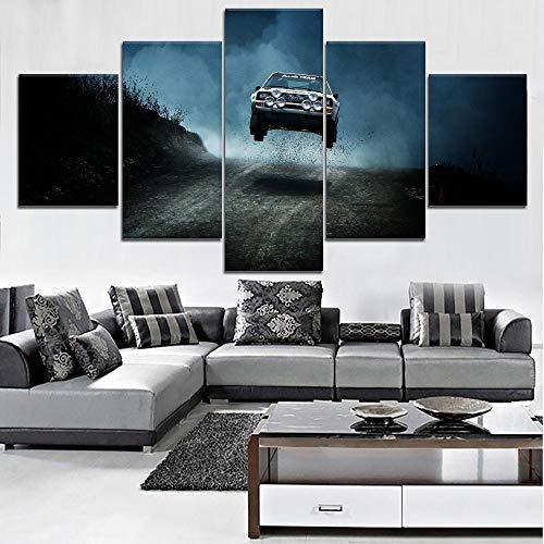 LAKHAFZY Cuadro Lienzo 5 Piezas Modern HD Wall Artwork