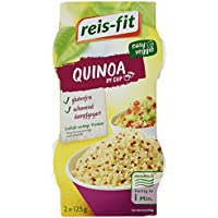 reis-fit Quinoa weiß+rot, im Cup, 2 x 125g, 4er Pack (4 x 250 g)