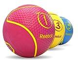 Reebok Medizinball, magenta, 1 kg, RAB-40121MG - 3