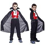 Costume di Halloween, OHQ MODA Mantello Con Cappuccio Costume Di Halloween Felpa Cappotto Bambino Piccolo Ragazzi Bambini Ragazze Cosplay Top Pantaloni Abiti Set (XL, A)