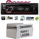 Renault Laguna 1 & 2 - Autoradio Radio Pioneer DEH-S100UB - CD | MP3 | USB | Android Einbauzubehör - Einbauset