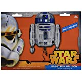 Anagram 3039901 - Palloncino Super Shape, soggetto: R2D2 (Disney Star Wars), 55 x 66 cm