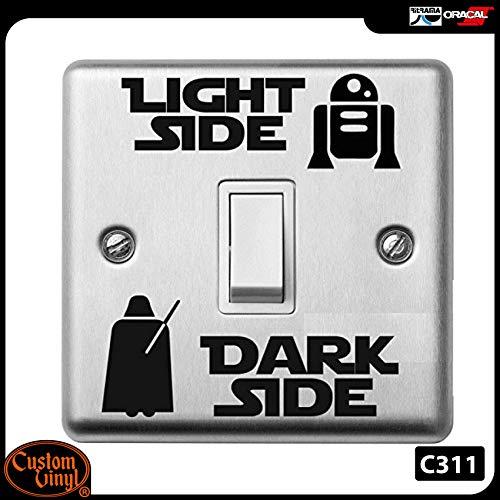 Custom Vinyl Light side, Dark Side vinyl
