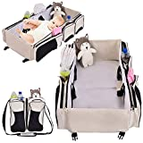 PERFECT SHOPO 3 in 1 Baby Diaper Bag Traveling Crib & Portable Baby Diaper Bag Messenger Bag Mummy Foldable Outdoor Baby Crib Casual / Babyhug Zippy Playpen / Bassinet / Infant Travel bed