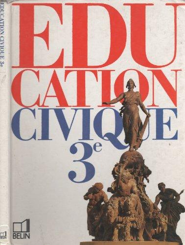 Education civique, 3e. Livre de l'élève
