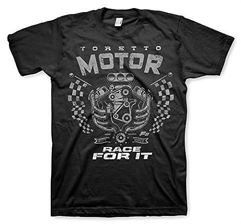 Officiellement Sous Licence Toretto Motor - Race For It Hommes T-Shirt (Noir), XX-Large