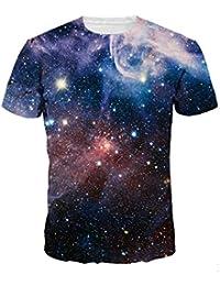 Ninimour Unisex Rundhals Casual Strassenmode T-Shirt