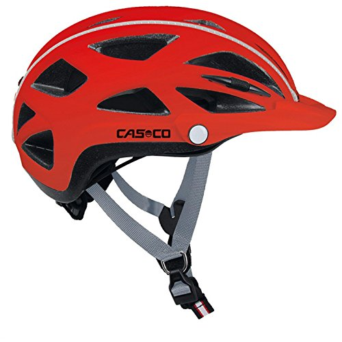 CASCO Active-TC rot Fahrradhelm, 15.04.0815, Größe Large