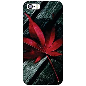 Apple iPhone 5S Back Cover - Red Designer Cases