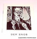 Programmheft Der Snob. Komödie von Carl Sternheim. Spielzeit 1964 / 65