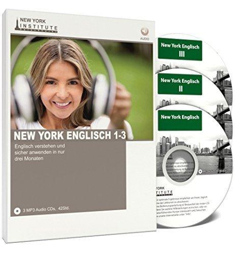 New-York-Englisch-I-II-und-III-Englisch-lernen-fr-Anfnger-und-Fortgeschrittene-Audio-Sprachkurs