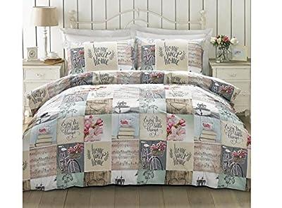 Hashtag Lazy Sunday Bedding Sets Multi Coloured - inexpensive UK light store.