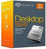 """Seagate Desktop SSHD 2 TB; interne Hybrid-Festplatte; 3.5""""; SATA; 6GB/s; 64 MB Cache; Retail Kit - (STCL2000400)"""