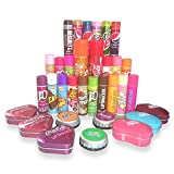 5 x Assorted Lip Balm / Lip Gloss (J20/Hersheys/Walls/Pepsi/Jelly Belly/Fanta/Ta