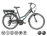 F.lli Schiano E- Light 1.0, Bicicletta elettrica Women's, Nera, 26''