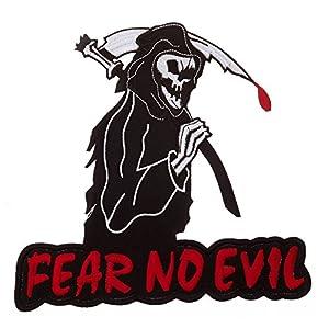 Ecusson / Patch Geant Fear No Evil 442312-939 Airsoft