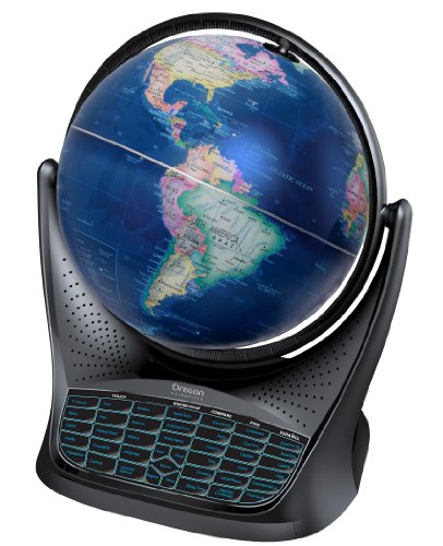 Oregon Scientific SG18 - Smart Globe mit Buch