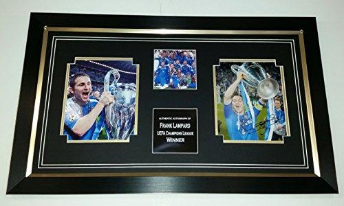 Frank Lampard del Chelsea firmato foto display