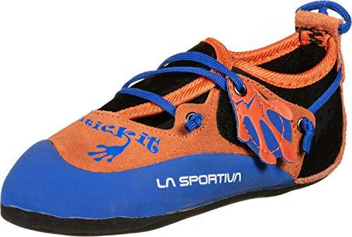 La Sportiva Stickit Kinderkletterschuhe orange/Blue